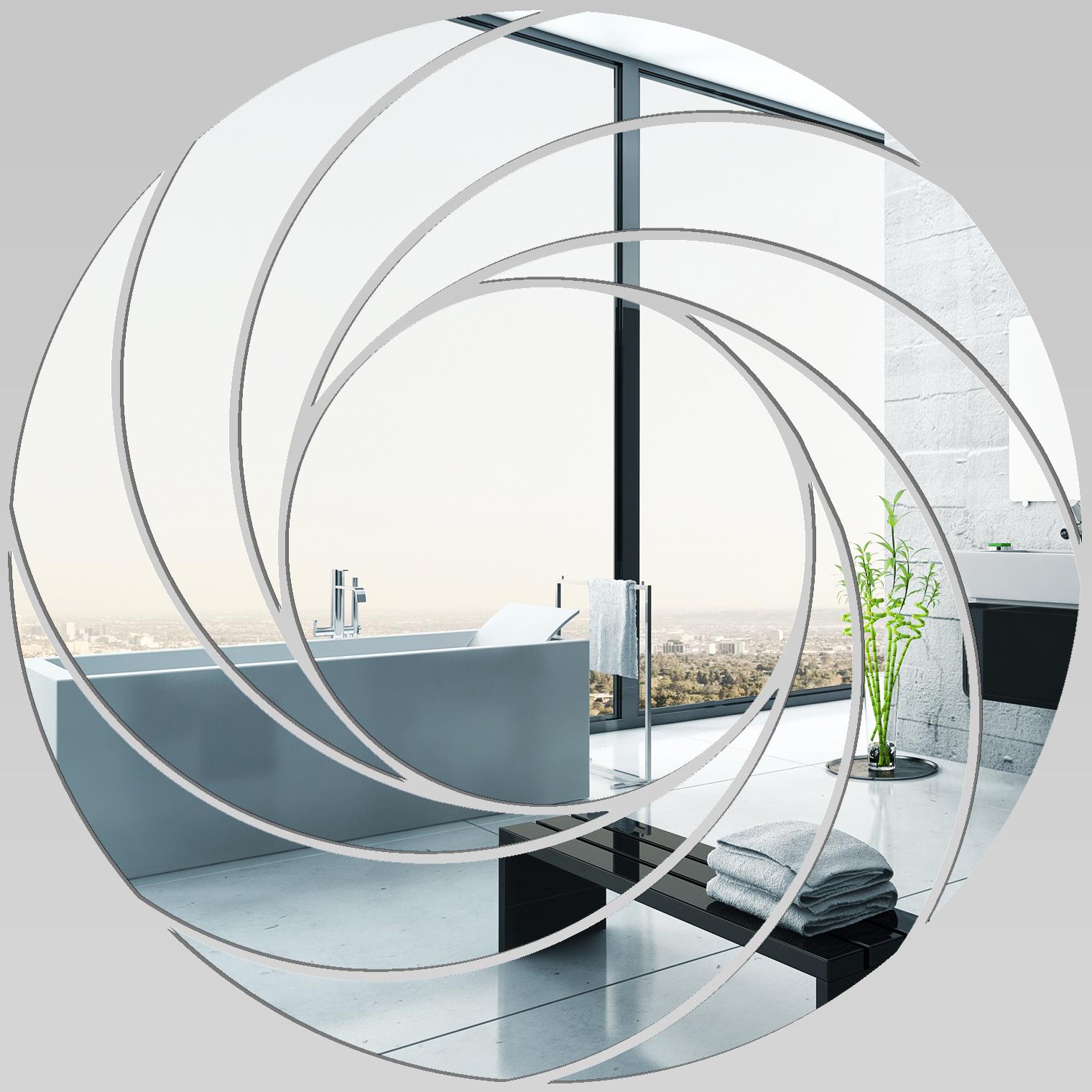 espejos decorativo acrlico plxiglas espiral diseo