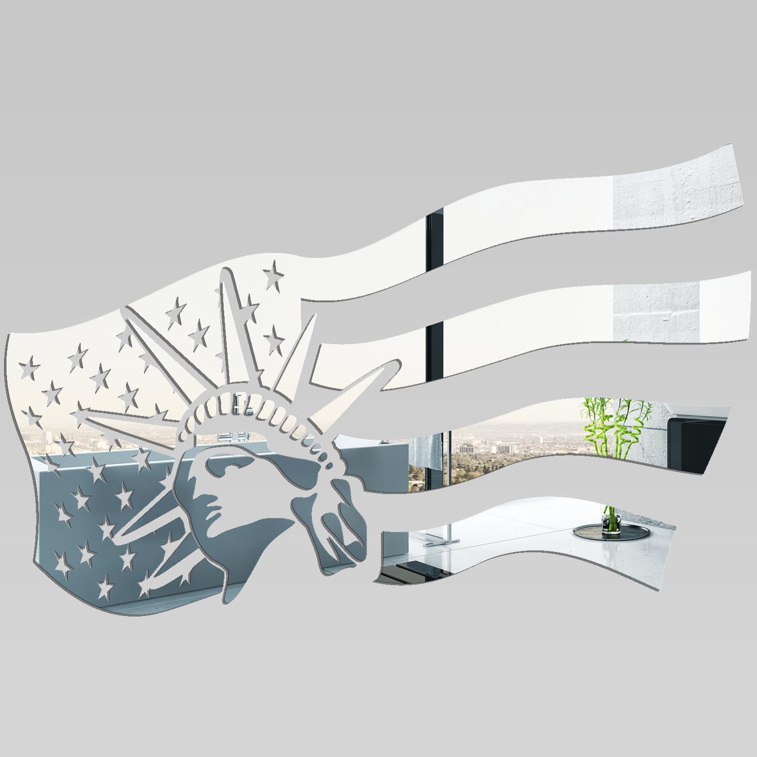 Vinilos folies espejos decorativo acr lico pl xiglas for Miroir new york conforama