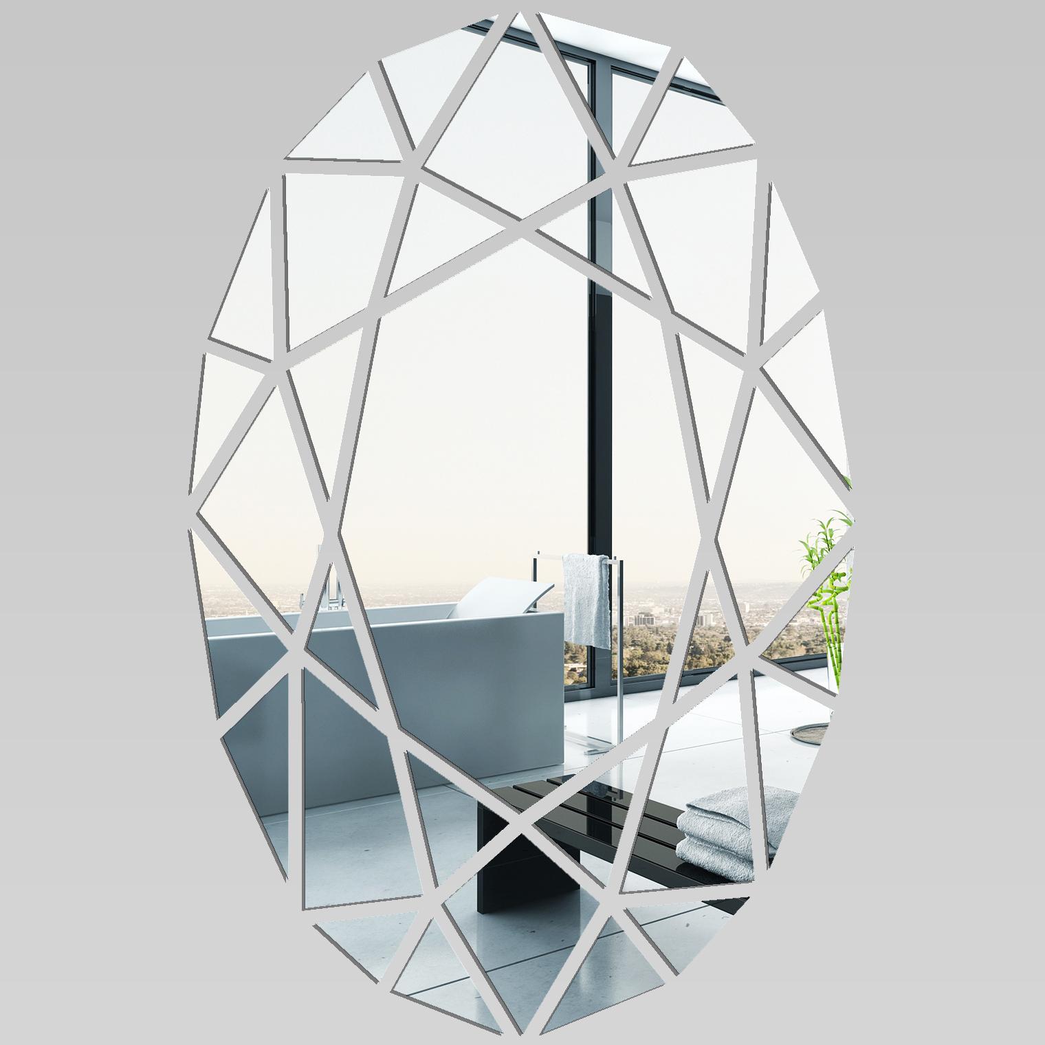 Vinilos folies espejos decorativo acr lico pl xiglas mosaico for Papier autocollant miroir