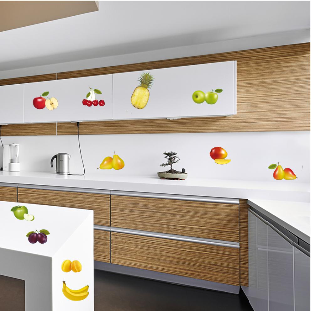Vinilos folies kit vinilo decorativo 11 frutas for Vinilos para azulejos de cocina