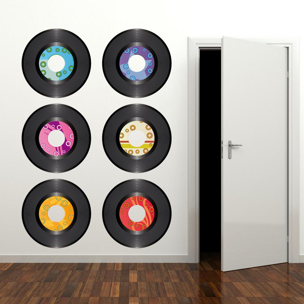 Vinilos Folies Kit Vinilo Decorativo 6 Discos