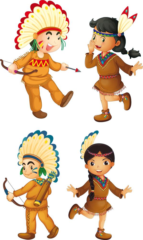 Vinilos Folies Kit Vinilo Decorativo Infantil Indio