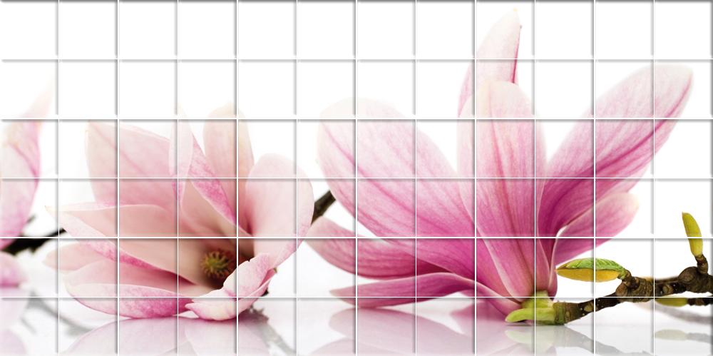 Vinilos folies vinilo azulejos flores - Azulejos con flores ...