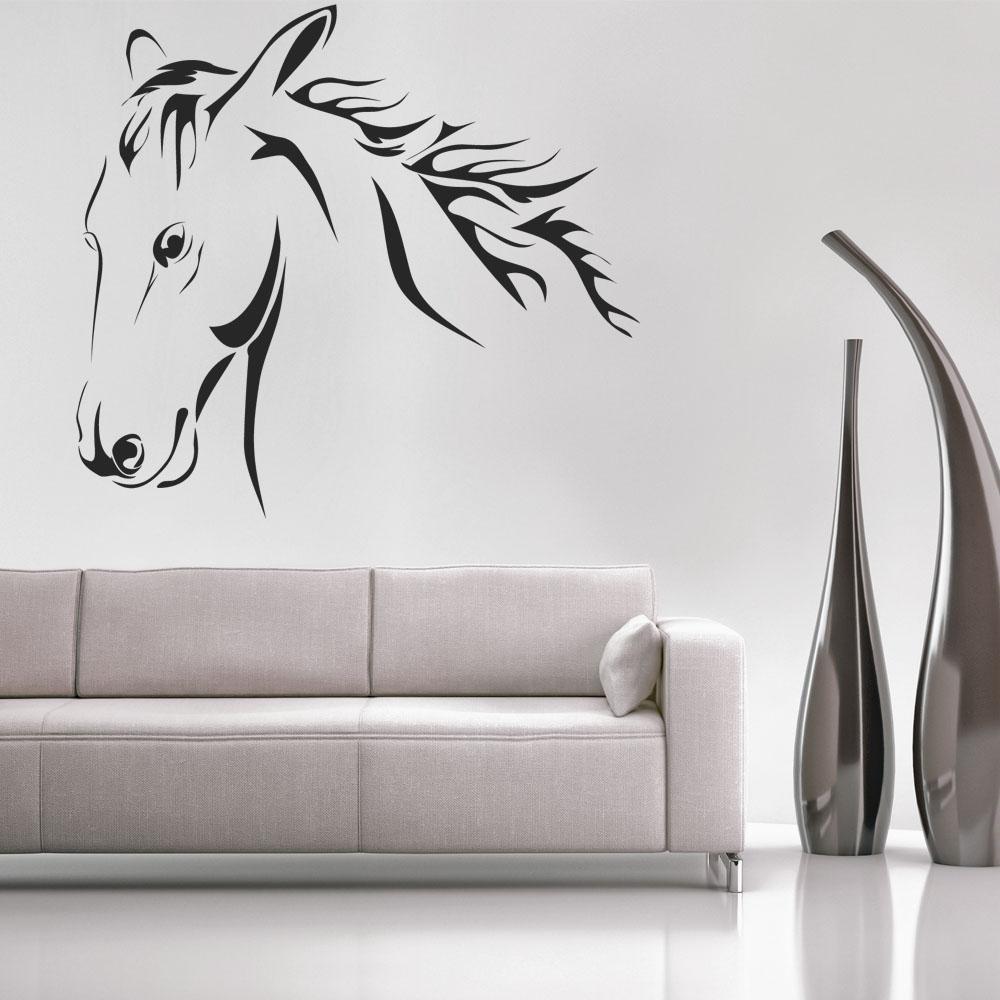 Vinilos folies vinilo decorativo caballo - Adhesivos para pared infantiles ...