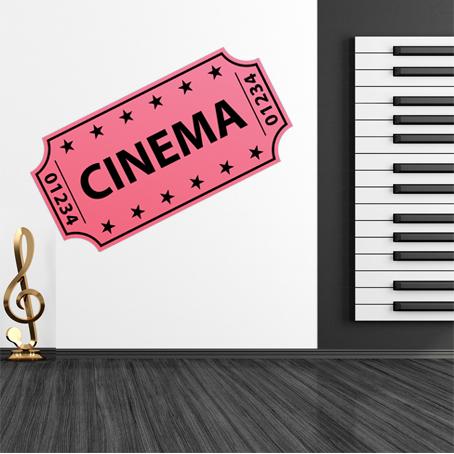 Vinilos folies vinilo decorativo entrada de cine - Vinilos de cine ...