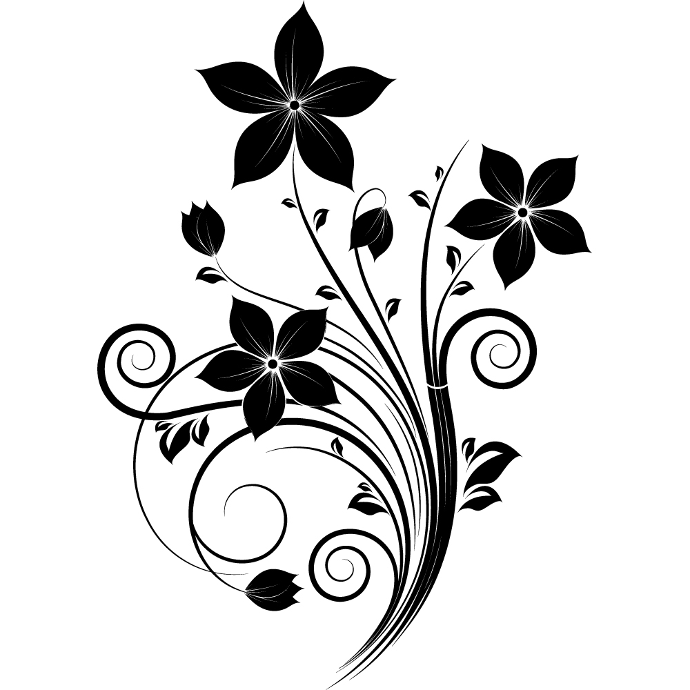 Vinilos folies vinilo decorativo floral - Laminas de vinilo para paredes ...