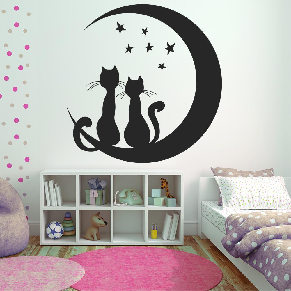 Vinilos folies vinilo decorativo gatos - Vinilos decorativos gatos ...