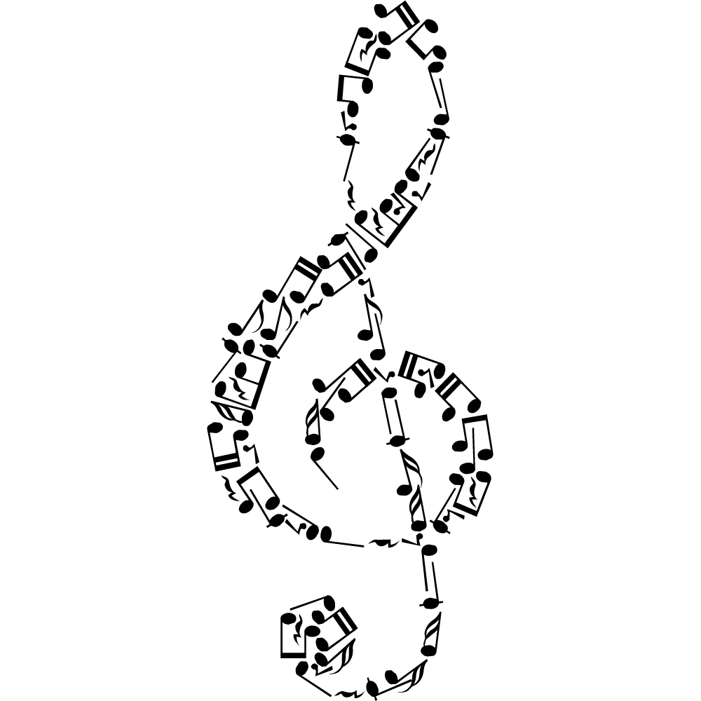 Vinilos folies vinilo decorativo notas musicales for Vinilos decorativos sobre musica