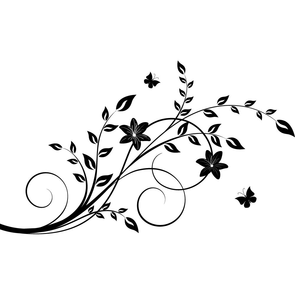 Vinilos folies vinilo decorativo rama for Vinilos decorativos blancos