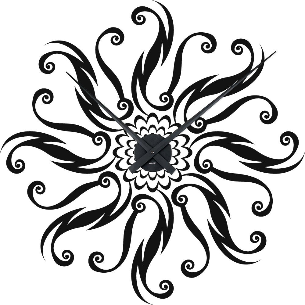 Vinilos folies vinilo decorativo reloj ornamento - Reloj vinilo decorativo ...