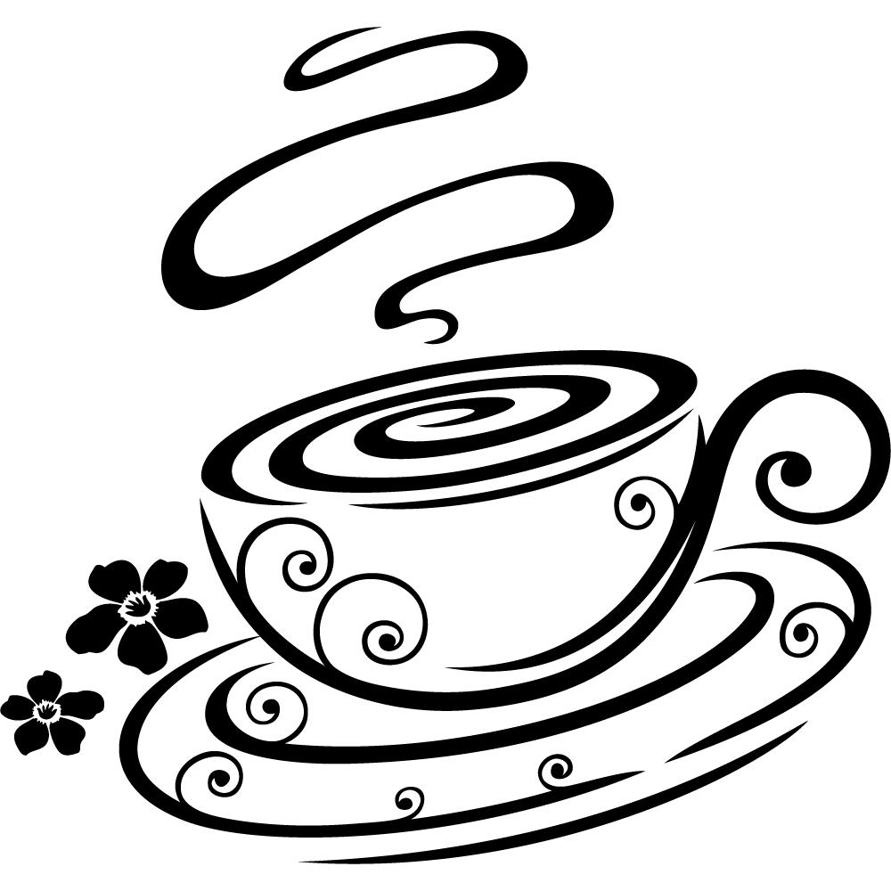 Vinilos folies vinilo decorativo taza para caf for Decoracion con tazas de cafe