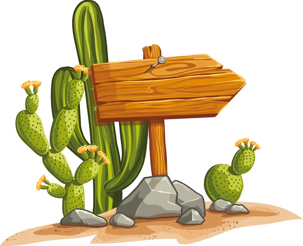 Vinilos Folies Vinilo Infantil Cactus