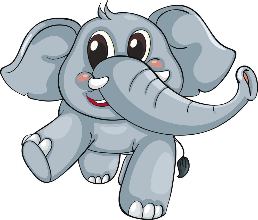 Vinilos folies vinilo infantil elefante beb for Vinilos para ninos bebes