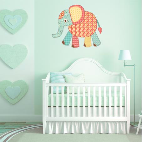 Vinilos Folies Vinilo Infantil Elefante Bebé