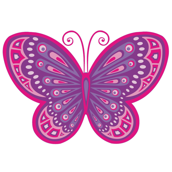Caricaturas de ninas related keywords caricaturas de for Vinilos mariposas