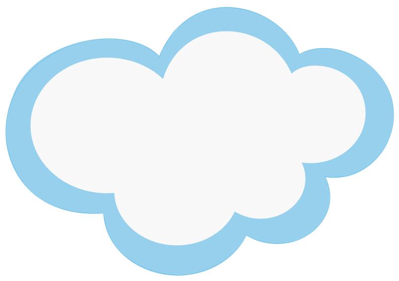 Vinilos folies vinilo infantil nube - Imagenes de nubes infantiles ...