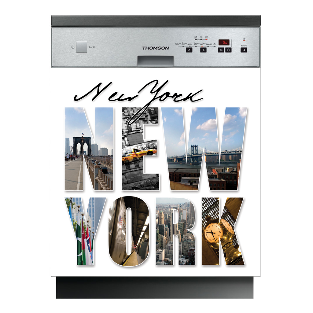Vinilos folies vinilo para lavavajillas nueva york for Vinilos pared new york