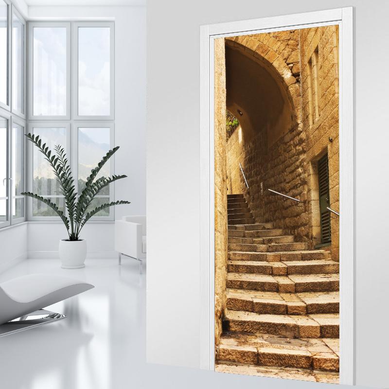 Vinilos folies vinilo para puerta escalera - Vinilos para escaleras ...