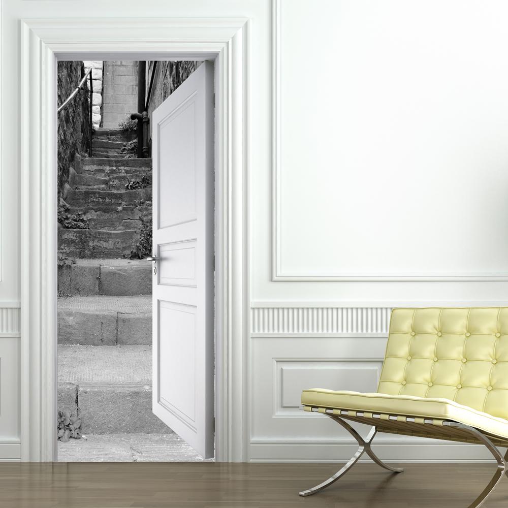 Vinilos folies vinilo para puerta escalera - Puertas de vinilo ...
