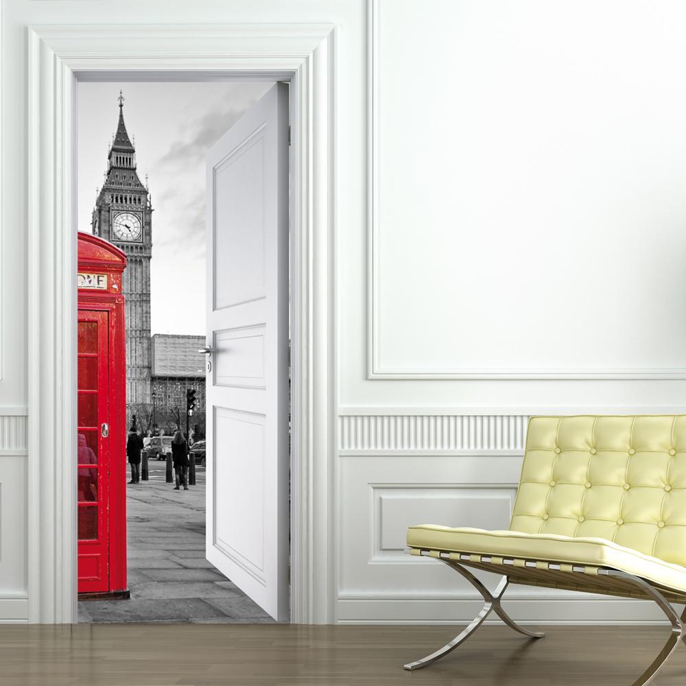 Vinilos folies vinilo para puerta london - Puertas con vinilo ...