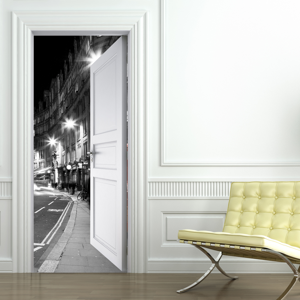 Vinilos folies vinilo para puerta london - Puertas de vinilo ...