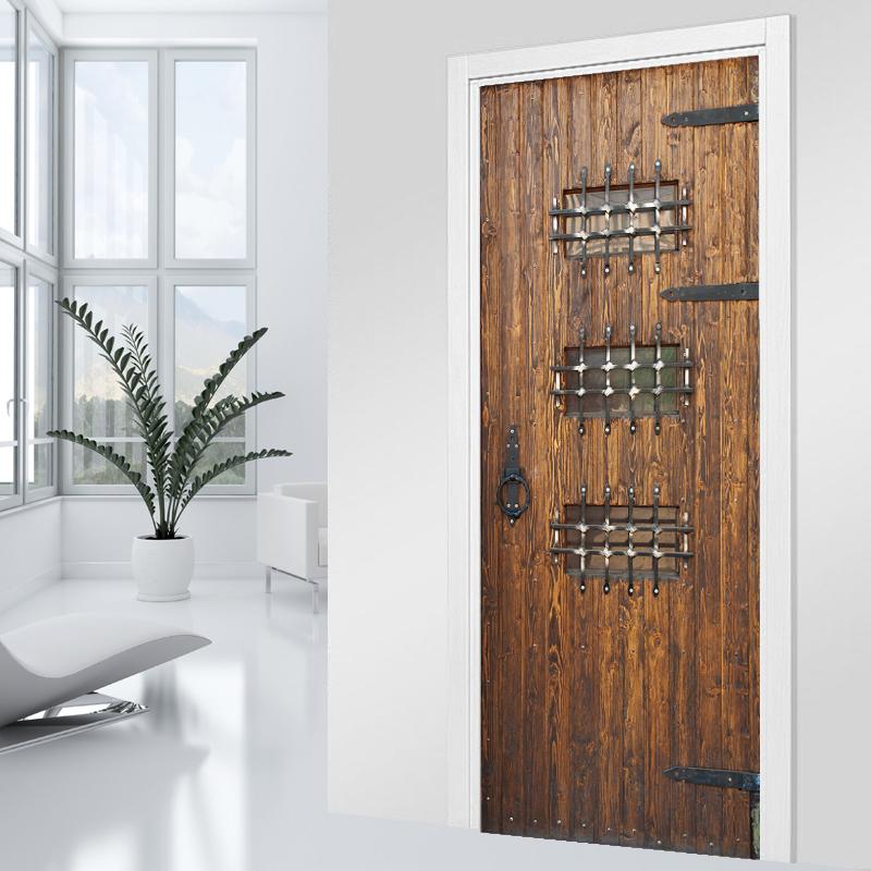 Vinilos folies vinilo para puerta madera - Vinilo madera ...