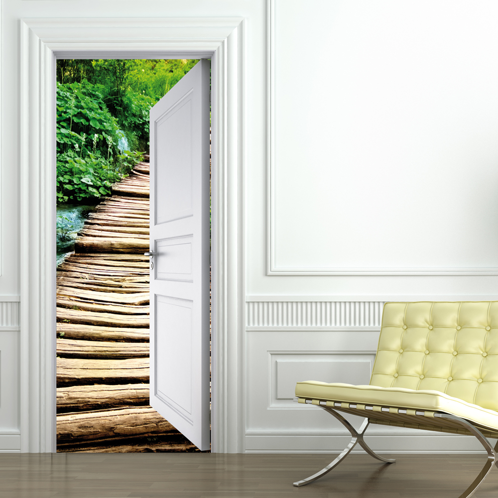 Vinilos folies vinilo para puerta naturaleza - Vinilos para puertas ...