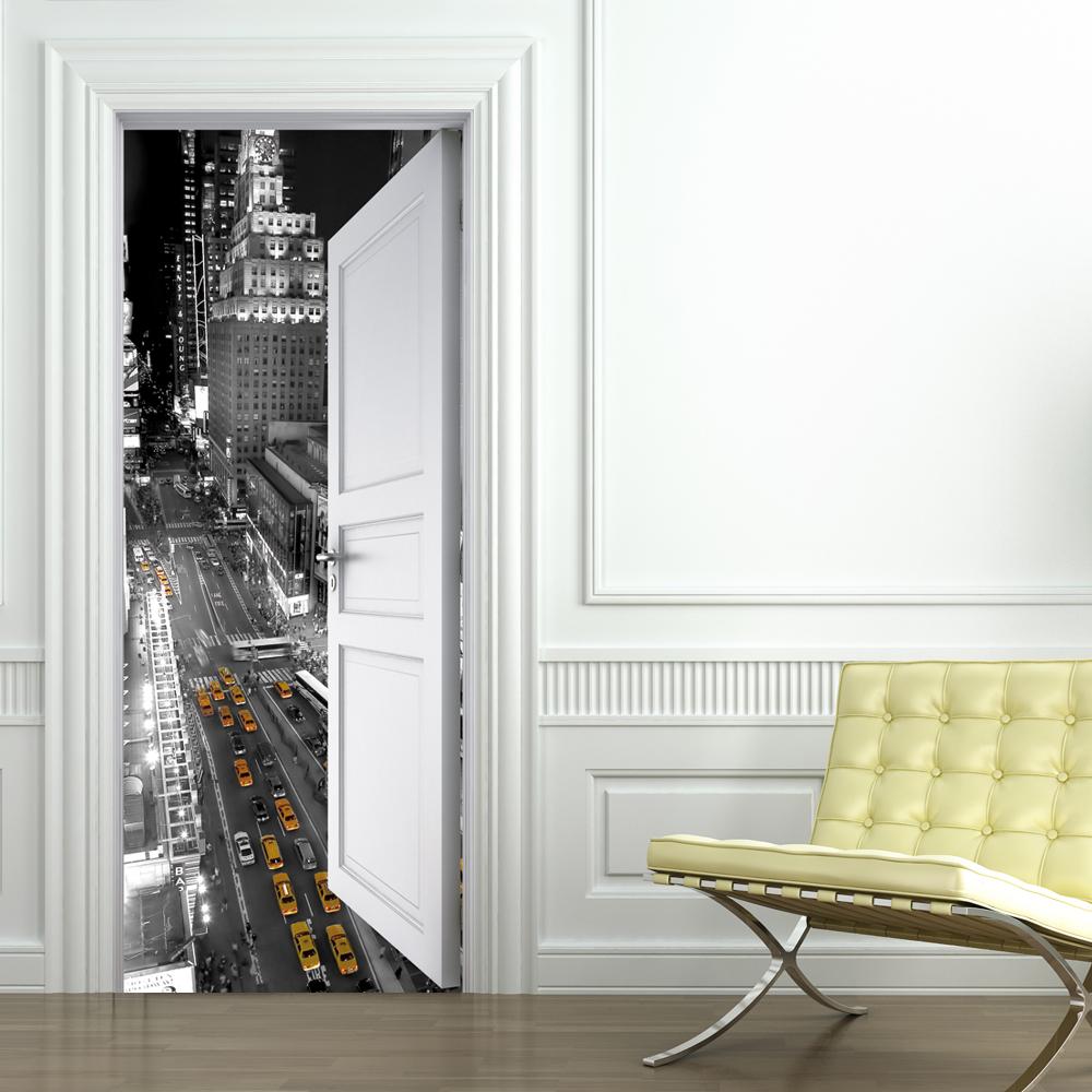 Vinilos folies vinilo para puerta nueva york - Puertas de vinilo ...