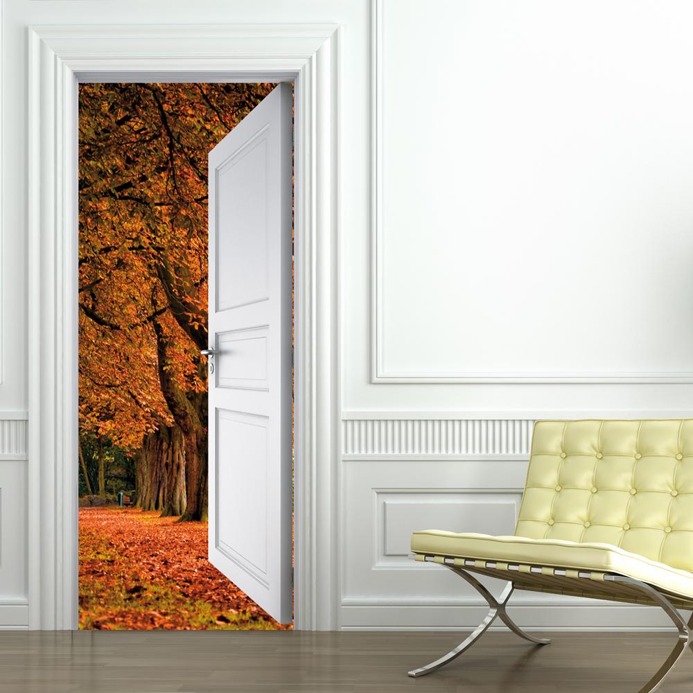 Vinilos folies vinilo para puerta paisaje - Vinilo para puerta ...