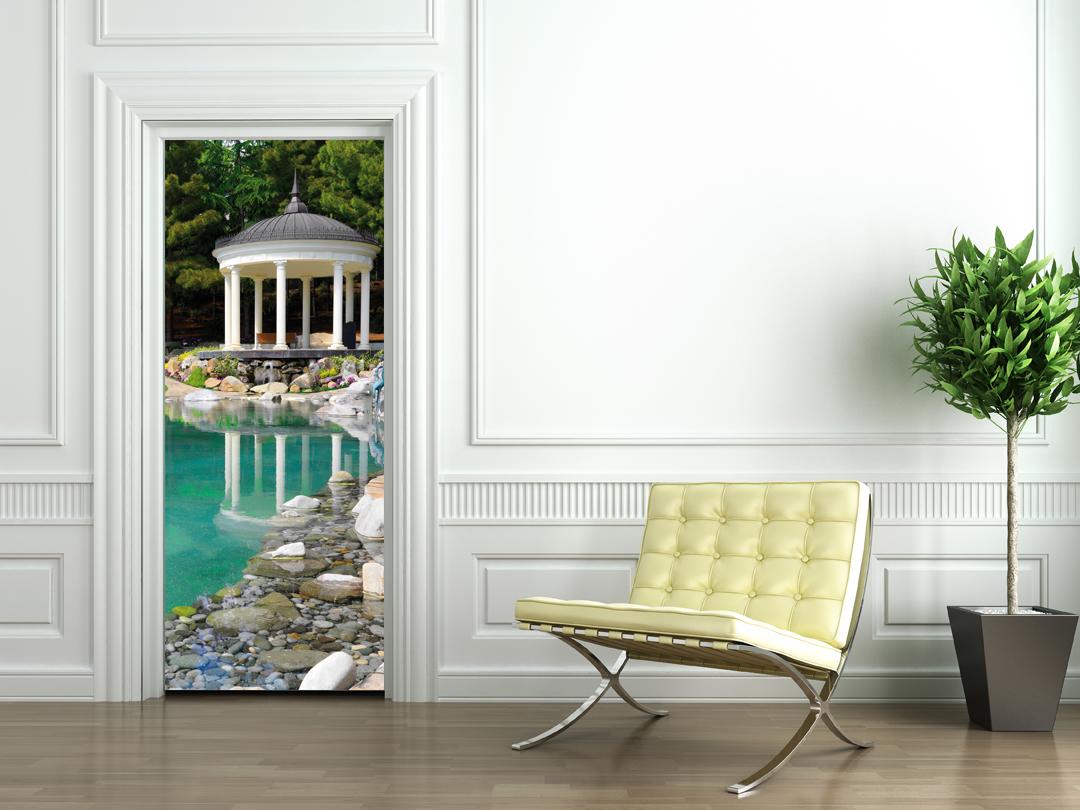 Vinilos folies vinilo para puerta p rgolas - Arcos decorativos para puertas ...