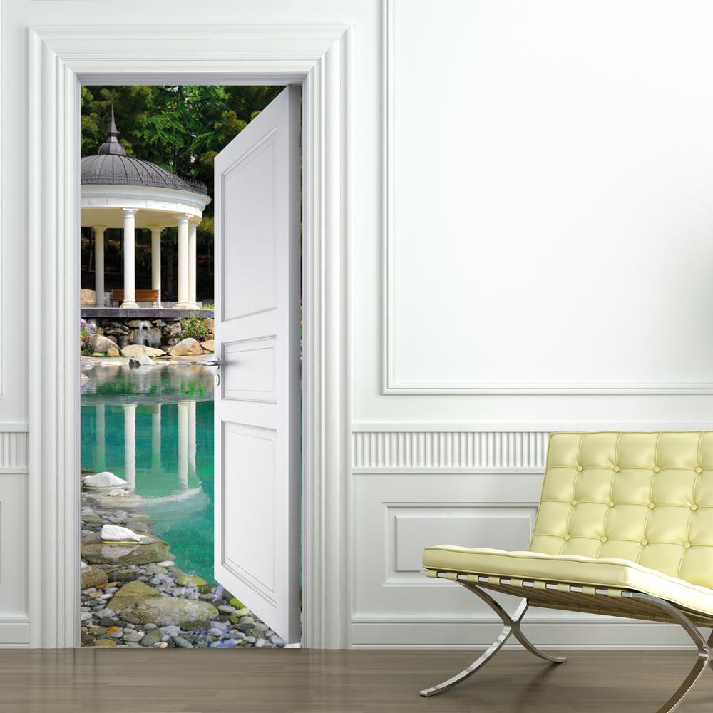 Vinilos folies vinilo para puerta piscina - Vinilo para puerta ...
