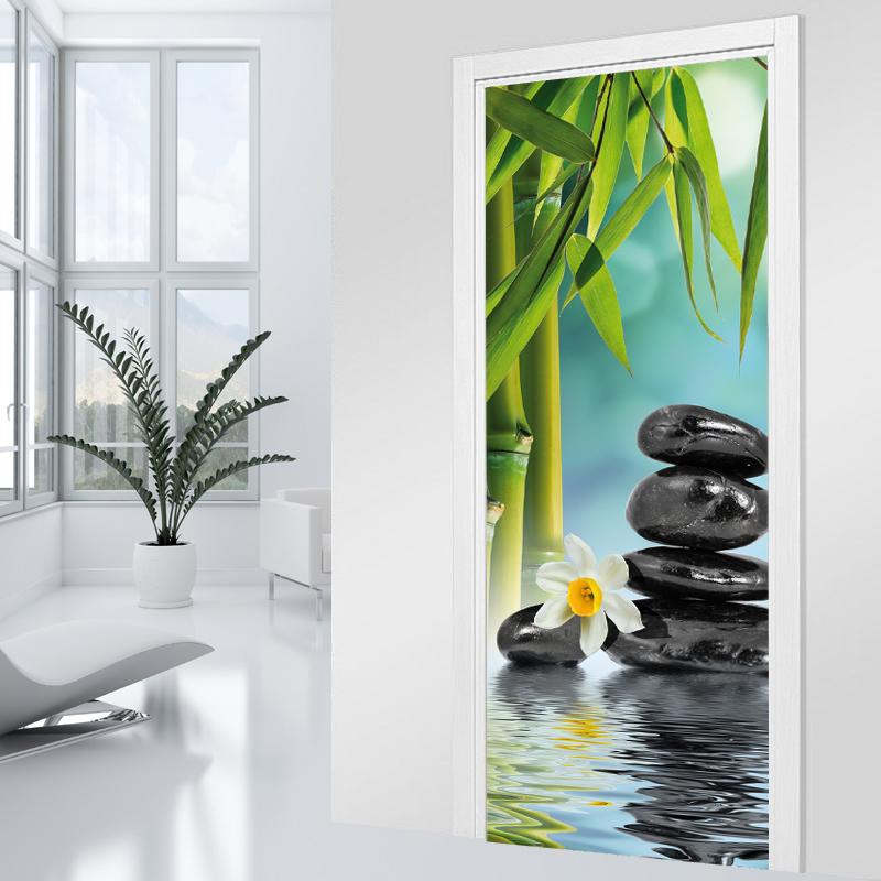 Vinilos folies vinilo para puerta zen - Cristales para paredes ...