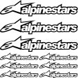 kit pegatinas alpinestars