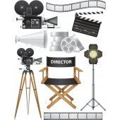 Kit Vinilo decorativo cine